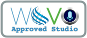 Press this badge to know how it ensures that the studio, equipment and Nils Östergrens technical performance has been scrutinised and approved within the Technical Studio Approval Program offered to the professional members of World-Voices Organization, WoVO.