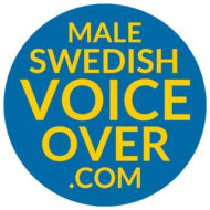 Male Swedish Voiceover